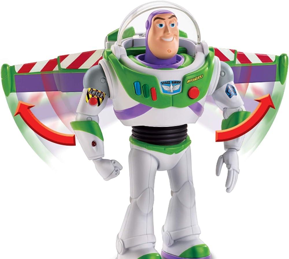 Toy story - disney pixar buzz lightyear missione speciale personaggio parlante da 18 cm GGH44