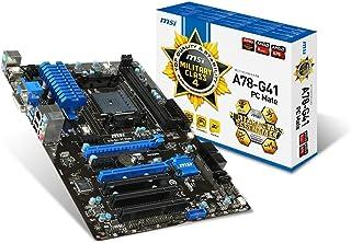 MSI A78-G41 PC Mate AMD FM2+ A78 ATX Motherboard