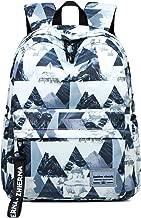 Cindeyar Student Backpack College School Bookbag Travel Laptop Backpack Stylish Printed Backpack for Women Men