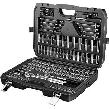 AmazonBasics - Juego de llaves (201 unidades): Amazon.es: Bricolaje y herramientas