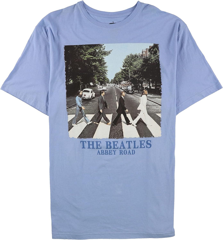 Jem Mens The Beatles Abbey Road Graphic T-Shirt, Blue, 3XLT