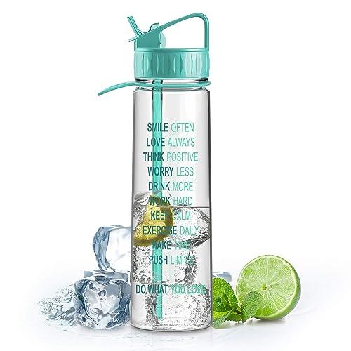 Artoid 900ml Botella Plástico Ecológico y sin BPA Botella de Agua, BPA Free Botella Agua