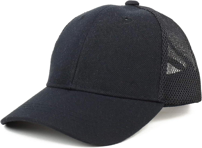 Trendy Apparel Shop Infant Size Structured Adjustable Trucker Mesh Baseball Cap