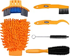 Oumers 6pcs Bike Bicycle Clean Brush Kit/Cleaning Tools for Bike Chain/Crank/Tire/Sprocket Cycling Corner Stain Dirt Clean...