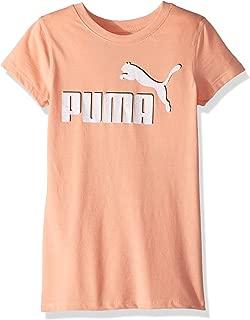 PUMA Girls' No .1 Logo T-Shirt