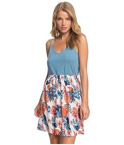 Roxy Moon Mouth Strappy Dress (Snow White Standard) Women