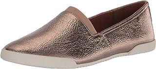 Frye Women's Melanie Slip On Sneaker, Bronze, 6