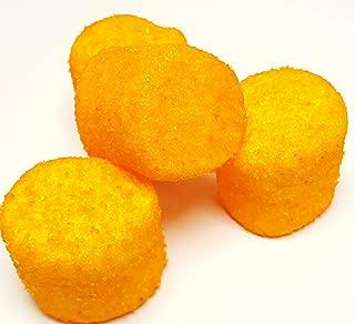 Sugared Marshmallows (Orange, 1 Pound)