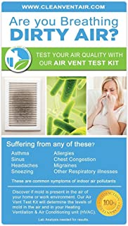 Clean Vent Air Solutions 1 Air Test Kit for Mold