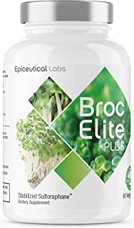 BrocElite - Vitamin and Mineral Supplement - Broccoli Sulforaphane Extract - Anti-Inflammatory Joint Support - Immune Support - Strengthen Existing Neurons, Promote Cognitive Health