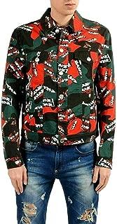 Versace Versus Men's Multi-Color Button Up Jean Jacket US S IT 48