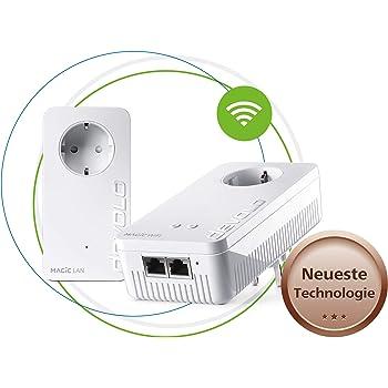 devolo Magic 1 - 1200 Wifi AC Starter Kit dLAN 2.0: Ideal für Home Office und Streaming, Powerline-Starterkit für zuverlässigeres WLAN ac einfach via Stromleitung durch Wände und Decken