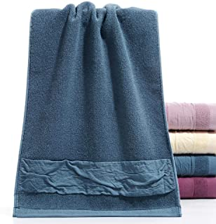 mumumunan Cotton Absorbent Towels and Towels for Daily use, Natural Methylene Blue, 3474