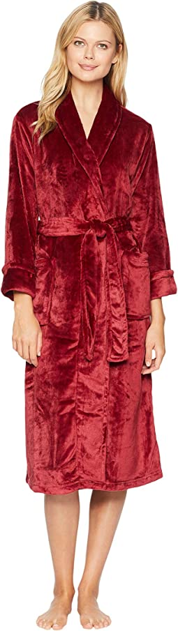 Cashmere-Feel Fleece Robe