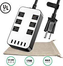Best dual voltage surge protector power strip Reviews