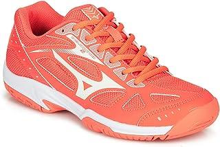mizuno women's cyclone speed 2 volleyball shoes orange