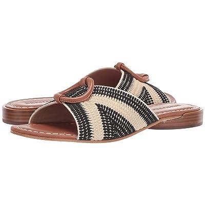 Bernardo Tay (Cream/Black/Luggage) High Heels