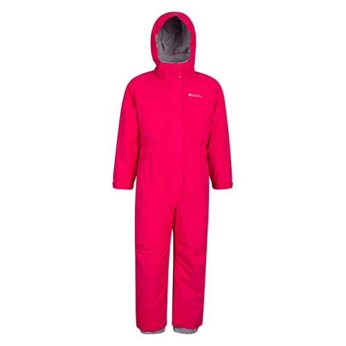 d2dea75dc1d Mountain Warehouse Cloud All In One Kids Snowsuit - Waterproof One Piece,  Taped Seams,