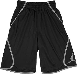 Jordan Men's Flight Victory Basketball Shorts (Black/Grey, XX-Large)