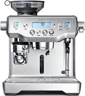 Sage BES980BSS the Oracle Espresso Semi-Automatic Espresso Machine - Silver