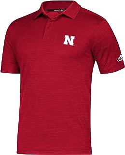 NCAA Nebraska Cornhuskers Mens Game Mode Polo, Red, XX-Large