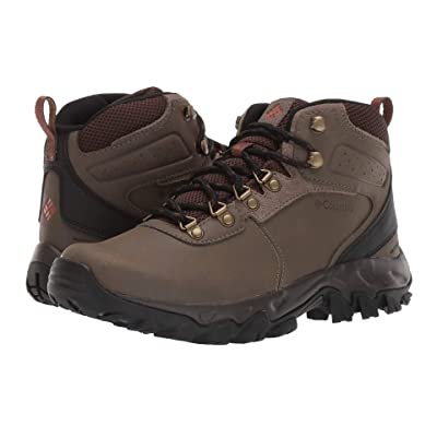Columbia Newton Ridge Plus II Waterproof (Mud/Sanguine) Men