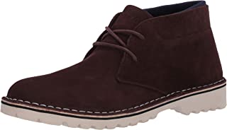 Kenneth Cole REACTION Men's Abie Desert Boot B Chukka, Chocolate, 7 M