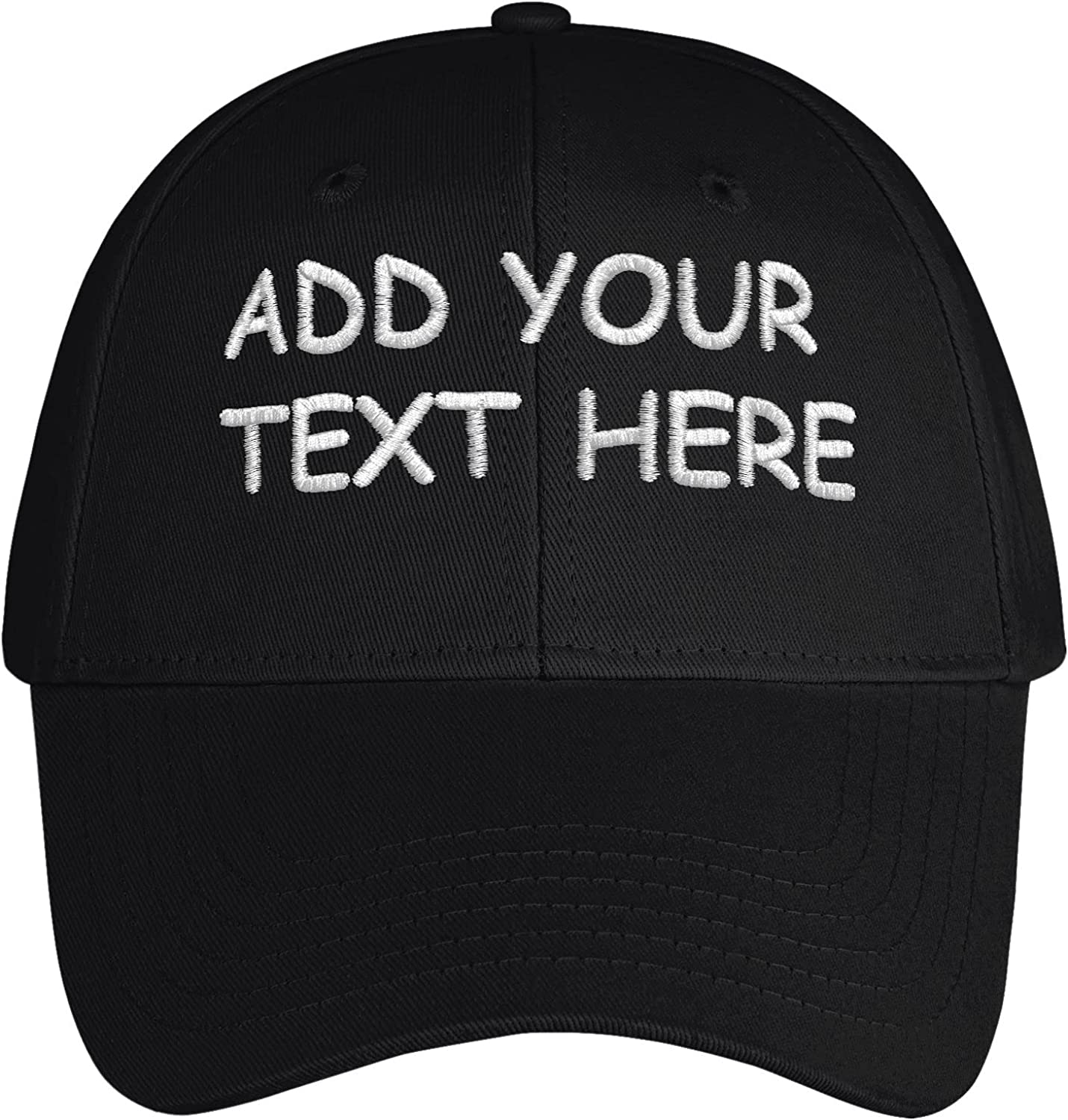 Custom Baseball Cap Personalized Text Dad Hat for Men Customized Embroidered Hats