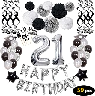 Best happy 21st birthday decorations Reviews