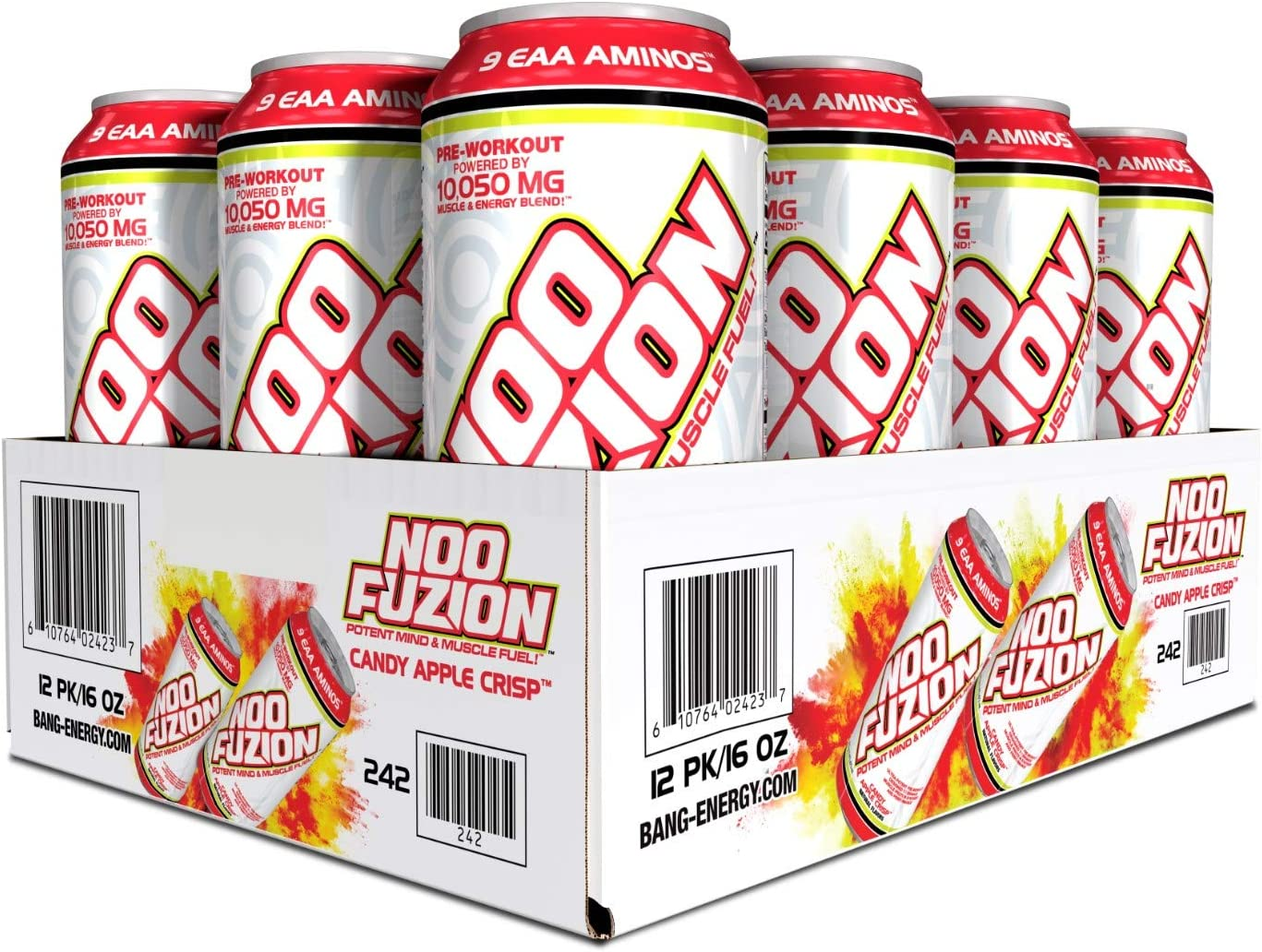 VPX NOO FUZION Potent Animer and price revision Mind Easy-to-use Fuel Muscle Carbonated PreWorkout Ene