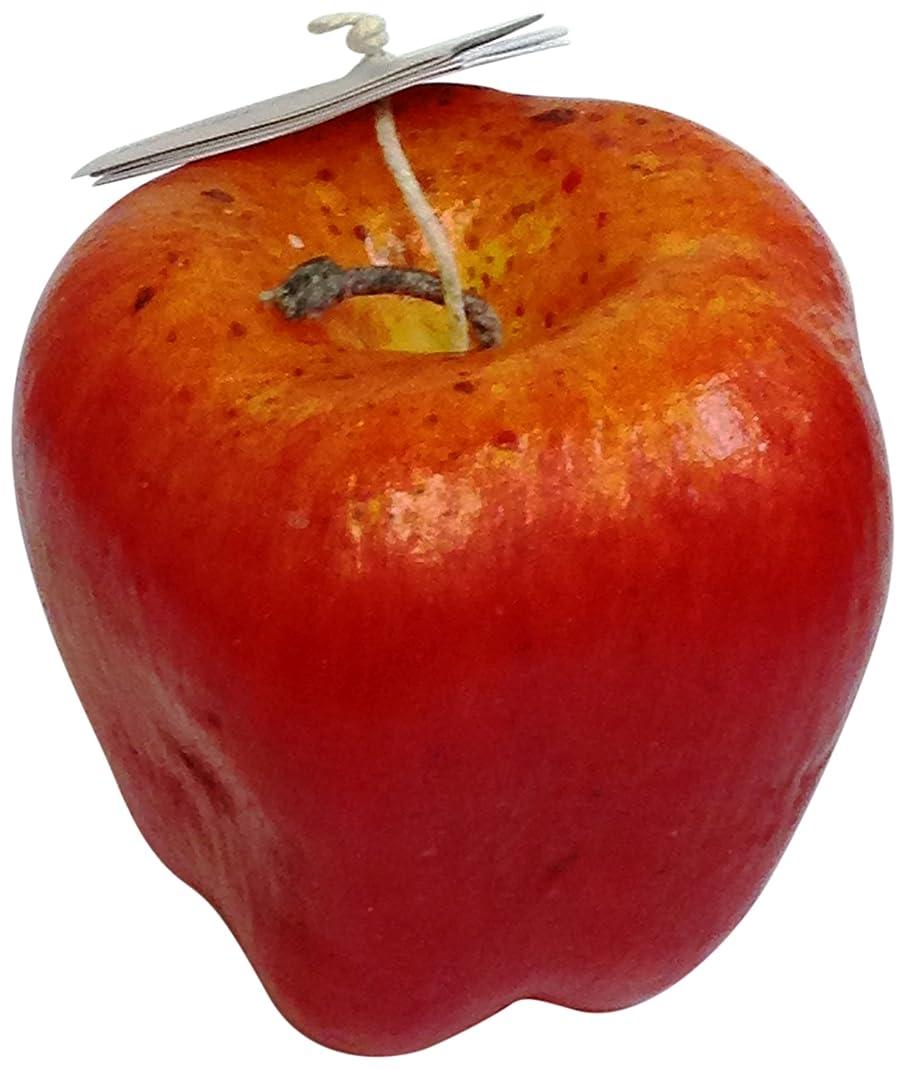 取り囲む報復するパイルニミティッドフルーツキャンドル レッドアップル ラージ