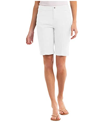 Fresh Produce Cruiser Shorts in Stretch Broadcloth (White) Women