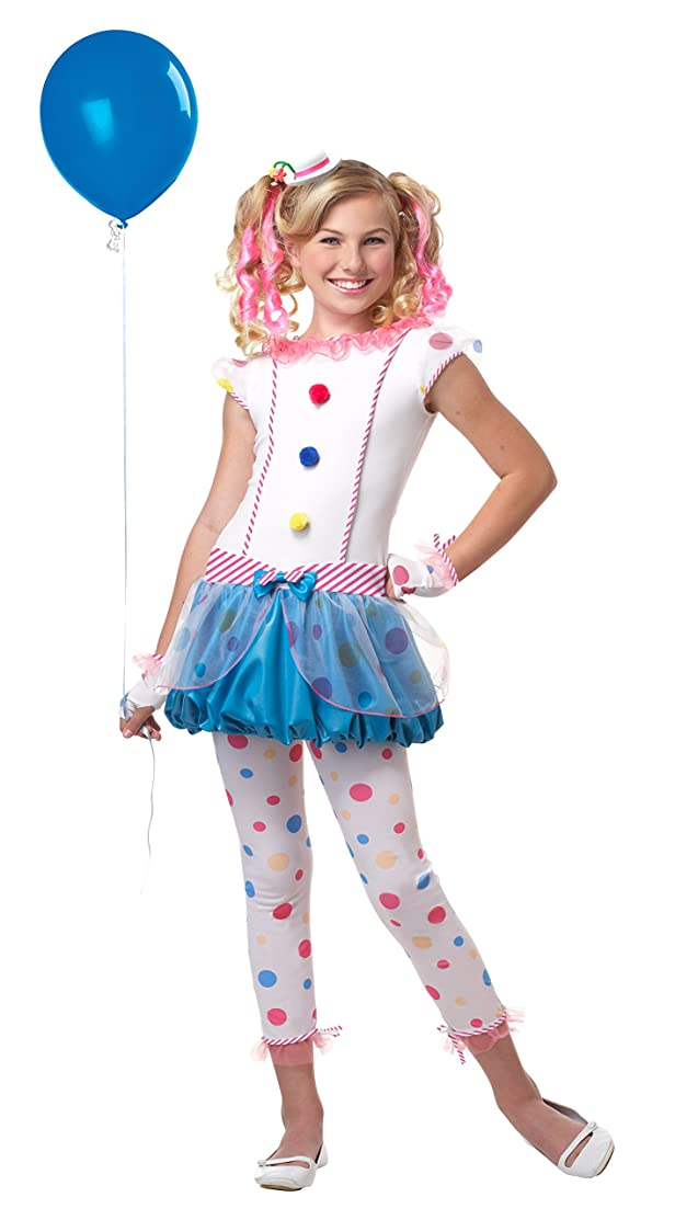 California Costumes Dotsy Clown/Tween Costume, One Color, X-Large