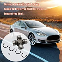 Helen-Box - Staked-In Universal Joint U-Joint Repair Kit Drive Prop Shaft for Lexus Subaru Prop Shaft Staked-In Universal Joint