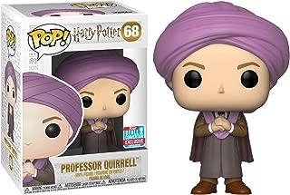 Funko Professor Quirrell (2018 Fall Con Exclusive): Harry Potter x POP! Vinyl Figure & 1 PET Plastic Graphical Protector Bundle [#068 / 34425 - B]