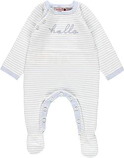 boboli - Pelele Trictosa de Bebé | Pelele Bebé Niño Manga Larga, Tallas de 0 a 6 Meses | 100% Algodón | Pelele Niño Invier...