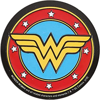 Open Road Brands DC Comics Wonder Women Vintage Embossed Metal Magnet Sign - an Officially Licensed Product Great Addition to Add What You Love to Your Home/Garage Decor