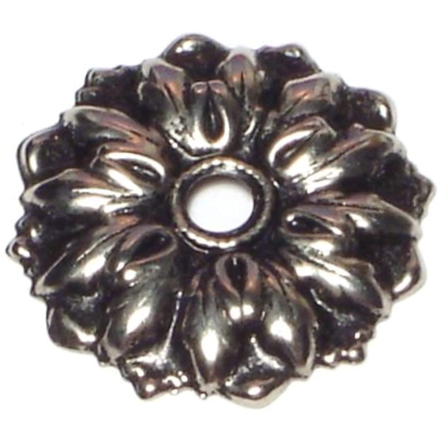Hard-to-Find Fastener 014973346607 Mirror Rosettes with Screws, 7/8-Inch, 12-Piece