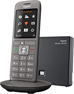 Gigaset CL690 SCB   Schnurloses Telefon mit Anrufbeantworter   intelligenter Schutz vor unerwünschten Anrufen   großes Farbdisplay   extragroßes Telefonbuch für 400 Kontakte