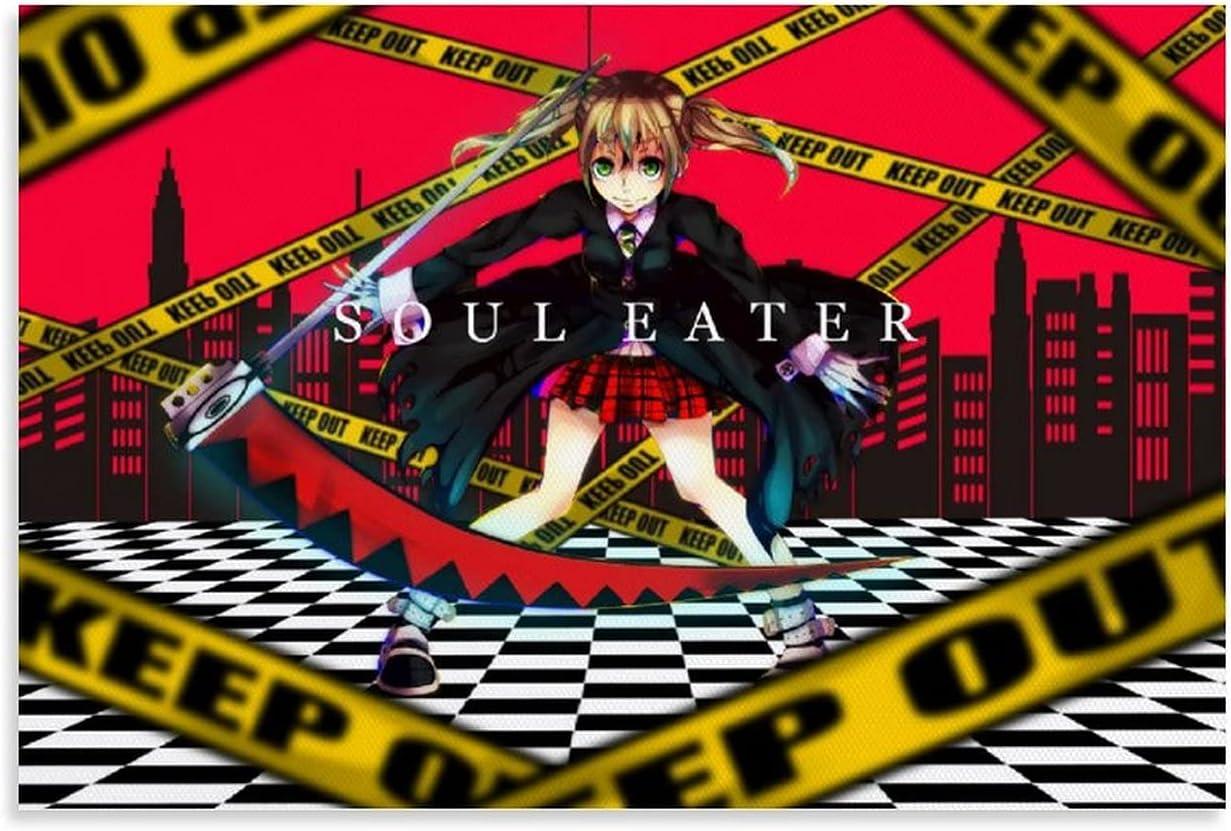 Max [Alternative dealer] 85% OFF Maka Albarn Soul Eater Anime Illustration Room Aesthetics Poster