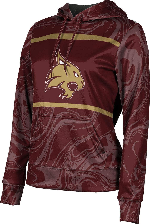 ProSphere Texas State University Girls' Pullover Hoodie, School Spirit Sweatshirt (Ripple)