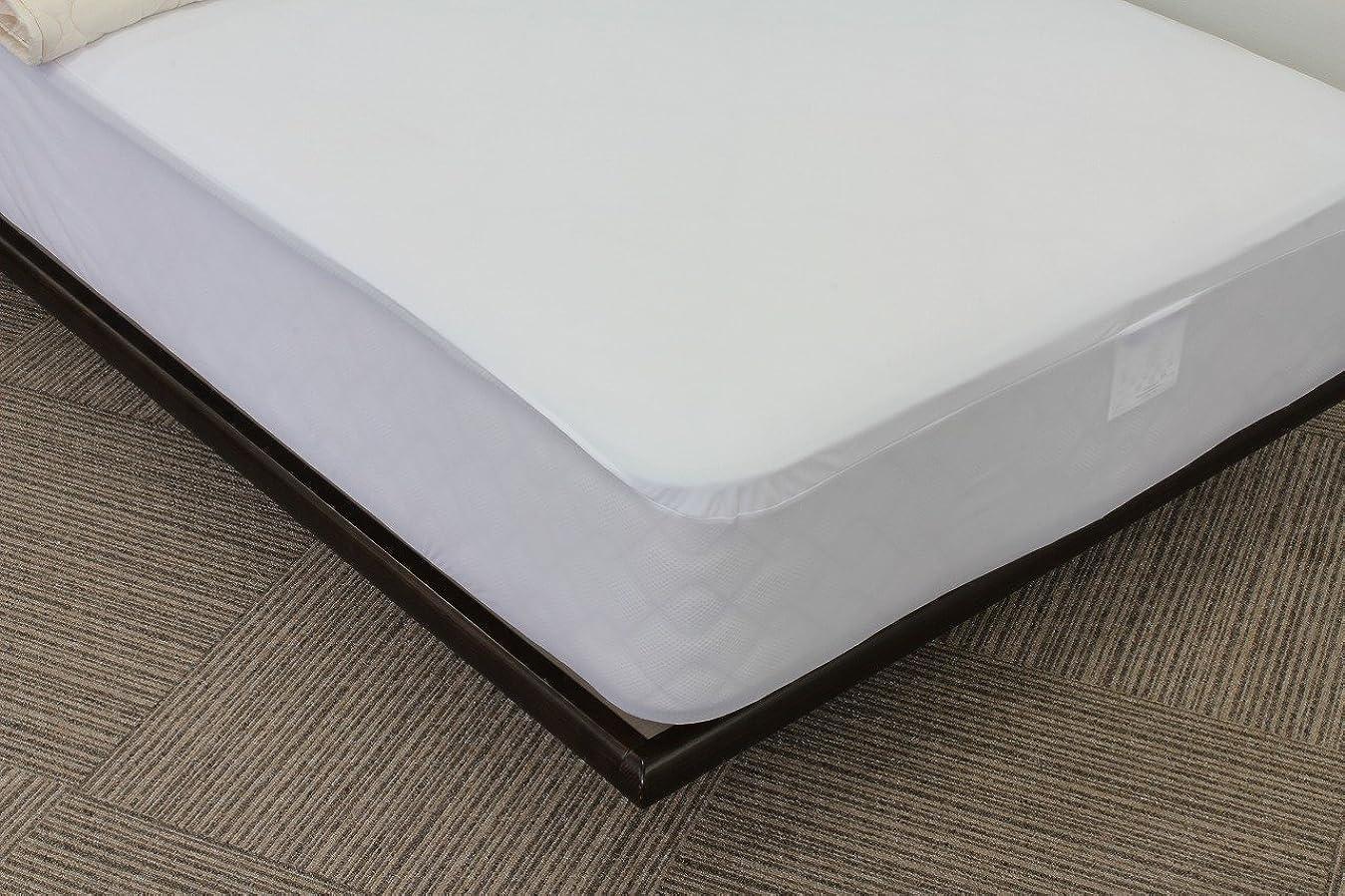ダイエットバルーンオン東京ベッド BOXシーツ マットレスプロテクター クラシック (ムレ無い防水シーツ) 業務用可 クイーンサイズ