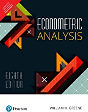 Best econometric analysis 8th edition Reviews