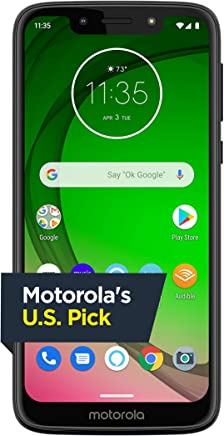 Moto G7 Play with Alexa Push-to-Talk – Unlocked – 32 GB –...