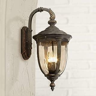 Bellagio Vintage Outdoor Wall Light Fixture Bronze Metal 20 1/2