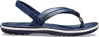 Crocs Unisex Kids Crocband Strap Flip K Sandals, 25 EU, Navy