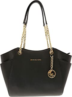 Michael Kors Large Chain Shoulder Tote Bag