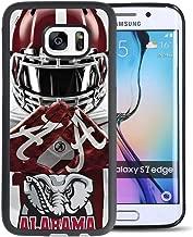 Galaxy s7Edgeケース、NCAA Alabama Crimson Tide Samsung Galaxy s7Edge TPUとPCでブラック