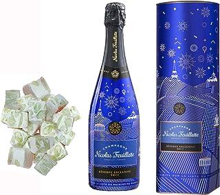 Champagne Nicolas Feuillatte - Brut editionFranzösisch Impertinenz bei nougadets & 150g weich weiß - Jonquier Zwei Brüder
