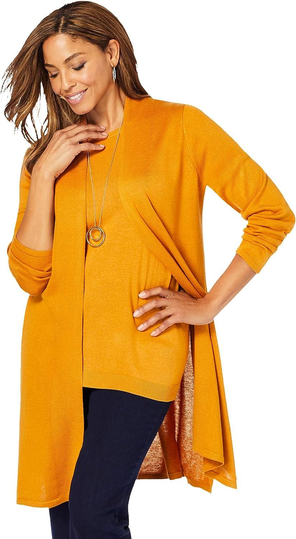 Jessica London New Shipping Free Shipping quality assurance Women's Plus Size Cardigan Gauge Topper Swea Fine